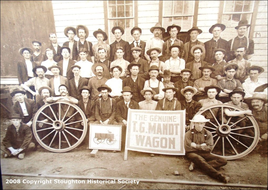 Workers at Mandt Wagon