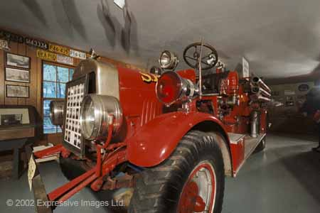 Stoughton Museum 1925 Fire Truck